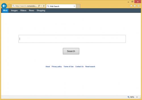Eliminar searchv.romandos.com virus