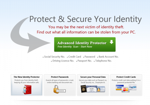Poista Advanced Identity Protector