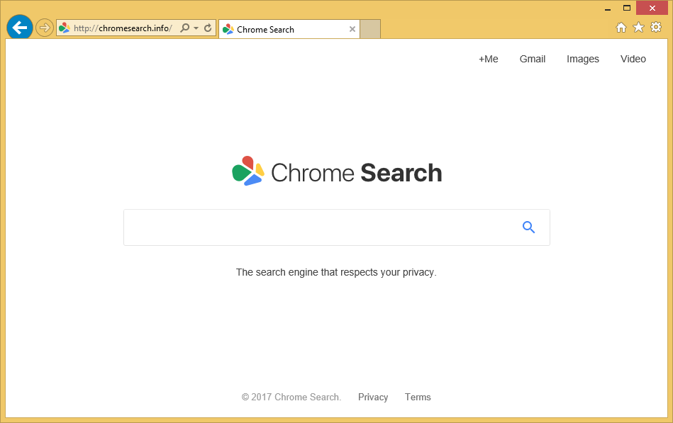 Chromesearch-info
