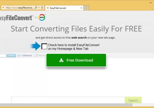 Ta bort EasyFileConvert