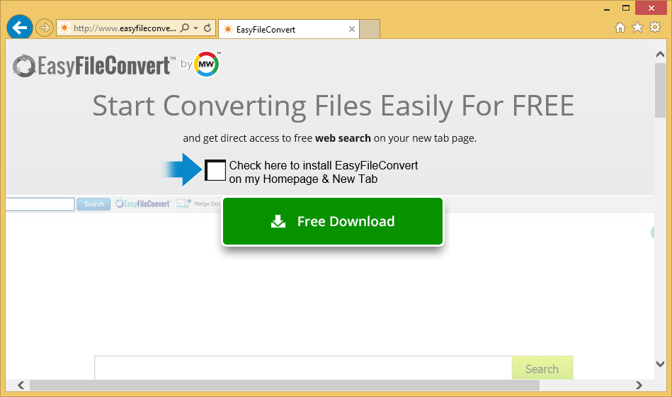 Удаление EasyFileConvert