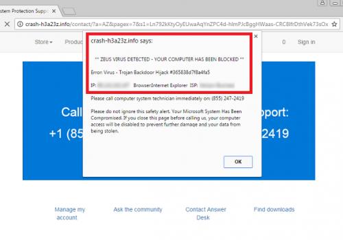 Nasıl ISP HAS BLOCKED YOUR PC çıkarmak