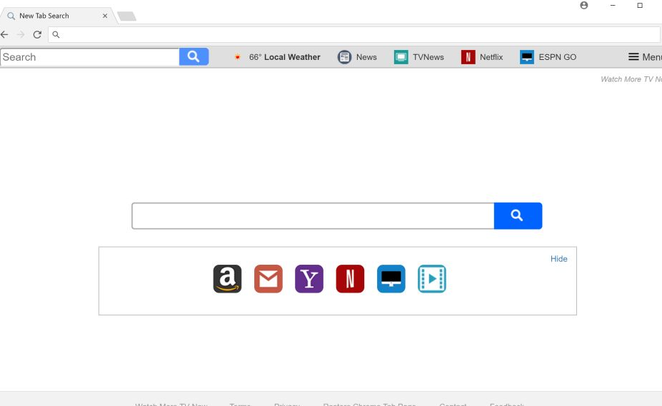 New Tab Search entfernen