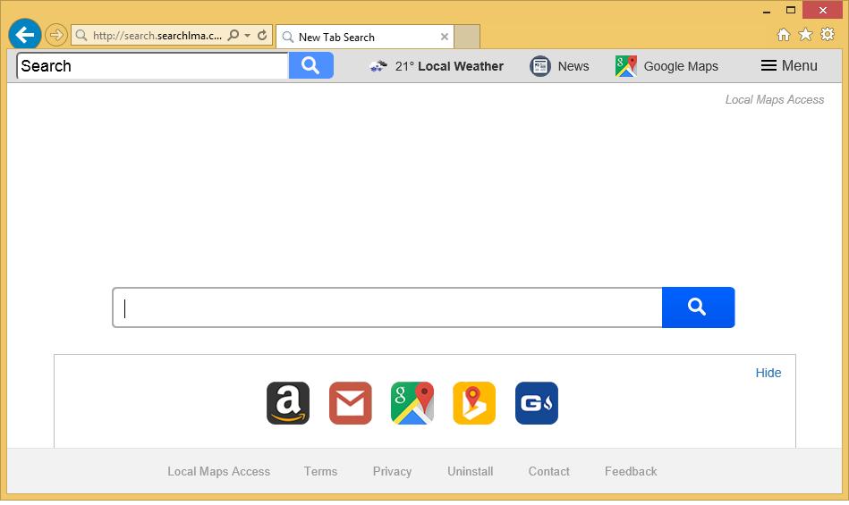 إزالة Searchlma.com