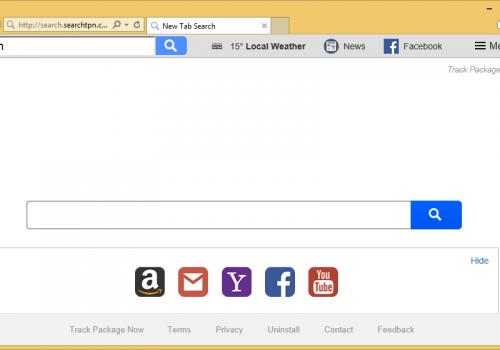 كيفية إزالة Search.searchtpn.com