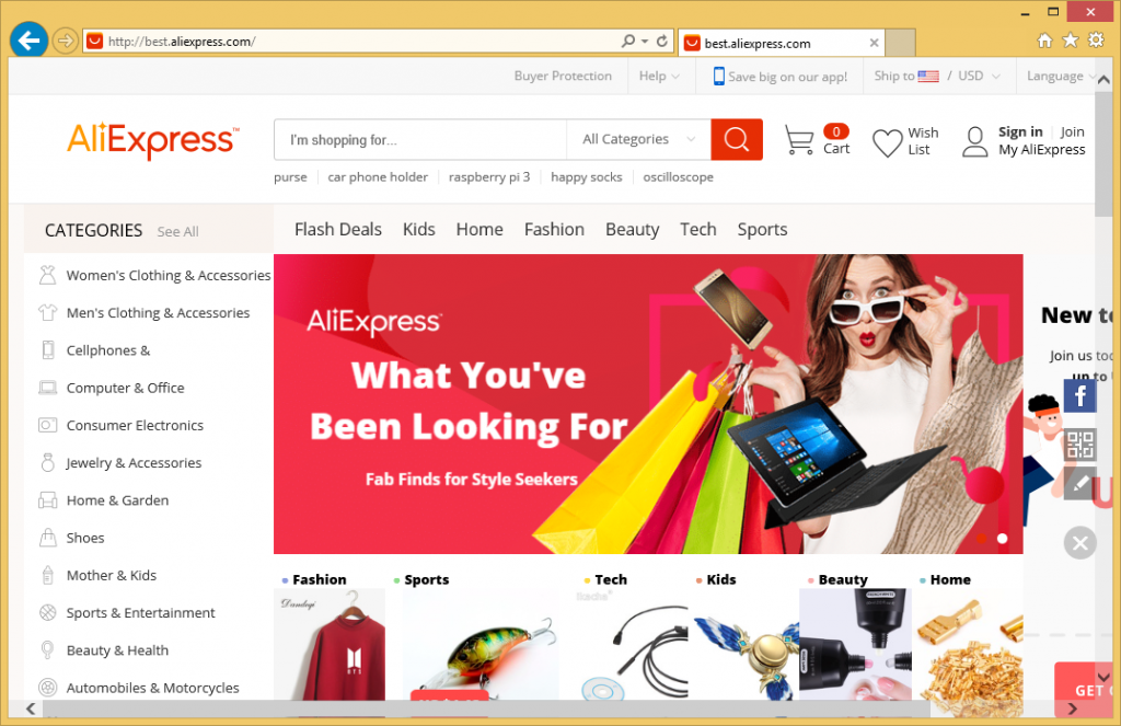 Aliexpress virus