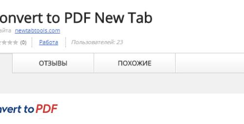 Remove Convert to PDF New Tab