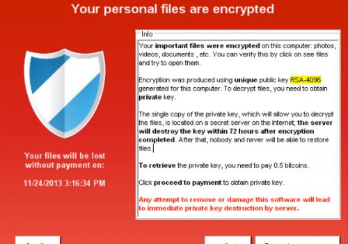 Crypto Virus – hvor å låse opp?