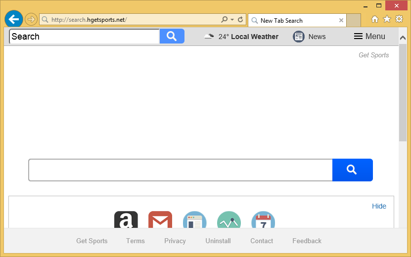 Search.hgetsports.net – How to remove?