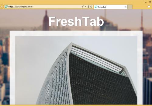 Fjern Search.freshtab.net