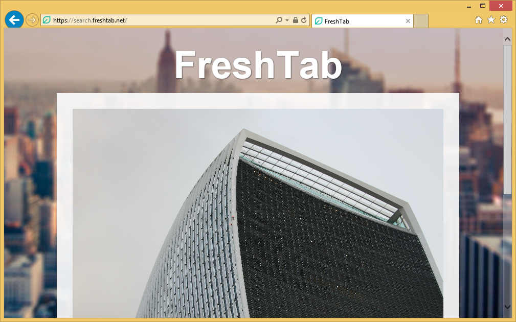 Supprimer Search.freshtab.net