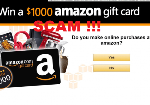 Odstrániť Amazon Gift Card Scam