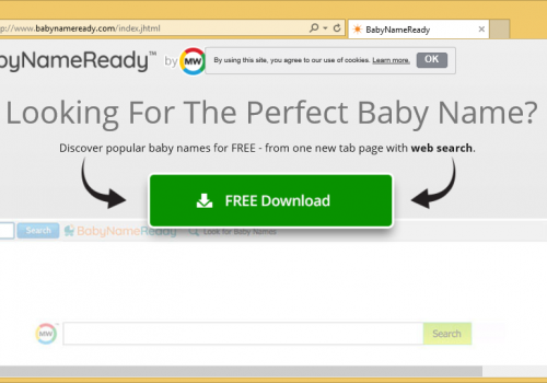 Remover BabyNameReady Toolbar