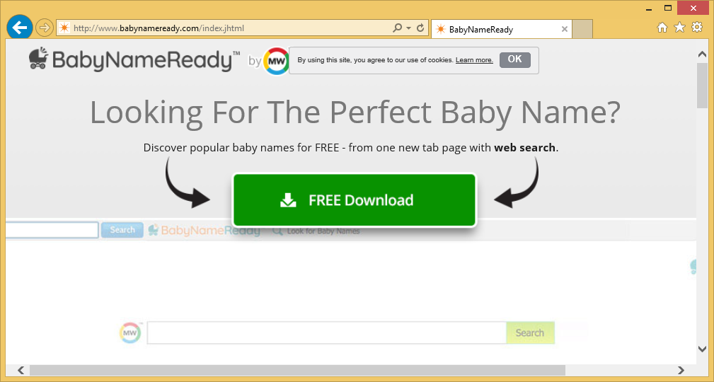 BabyNameReady Toolbar