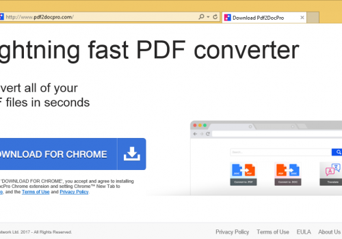How to remove Pdf2DocPro