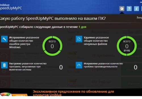 Κατάργηση SpeedUpPC 2018