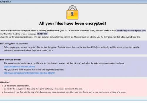 Remove Arrow ransomware virus