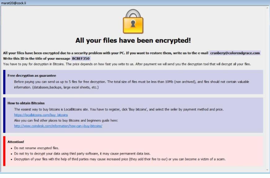 Remover arrow ransomware virus arrow ransomware virus ccuart Choice Image