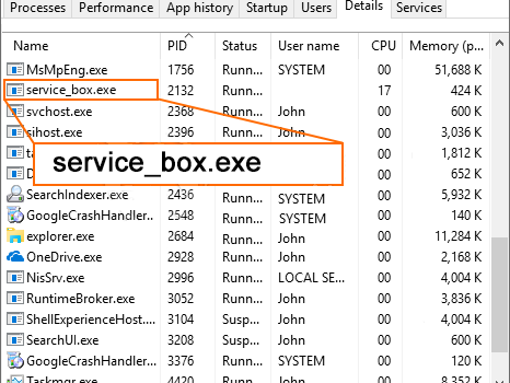 Remove Service_box.exe