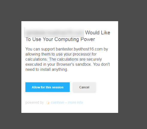 Would Like To Use Your Computing Power Scam