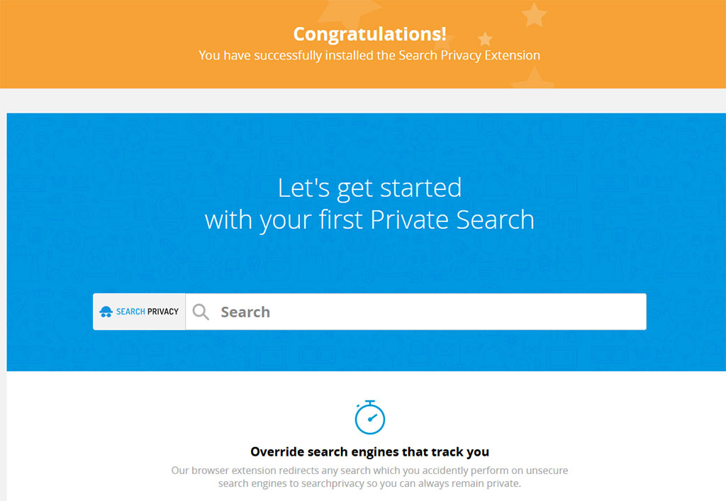 Come rimuovere Search-Privacy.store