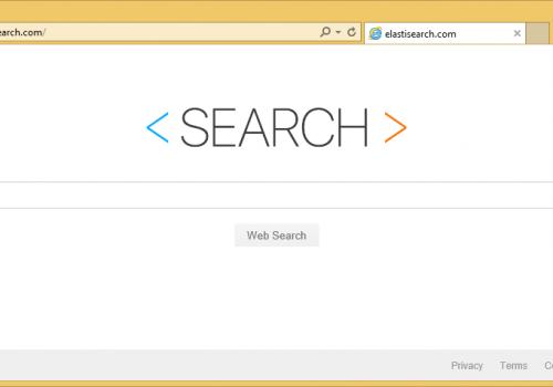 Elastisearch.com を削除します。