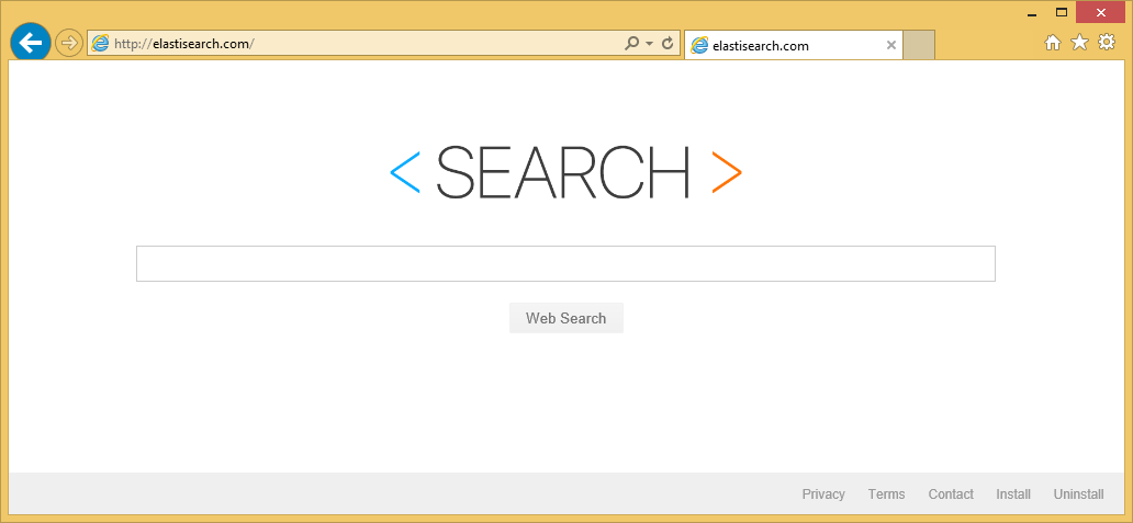 Remove Elastisearch.com