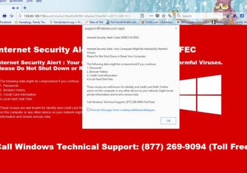 Remove Internet Security Alert