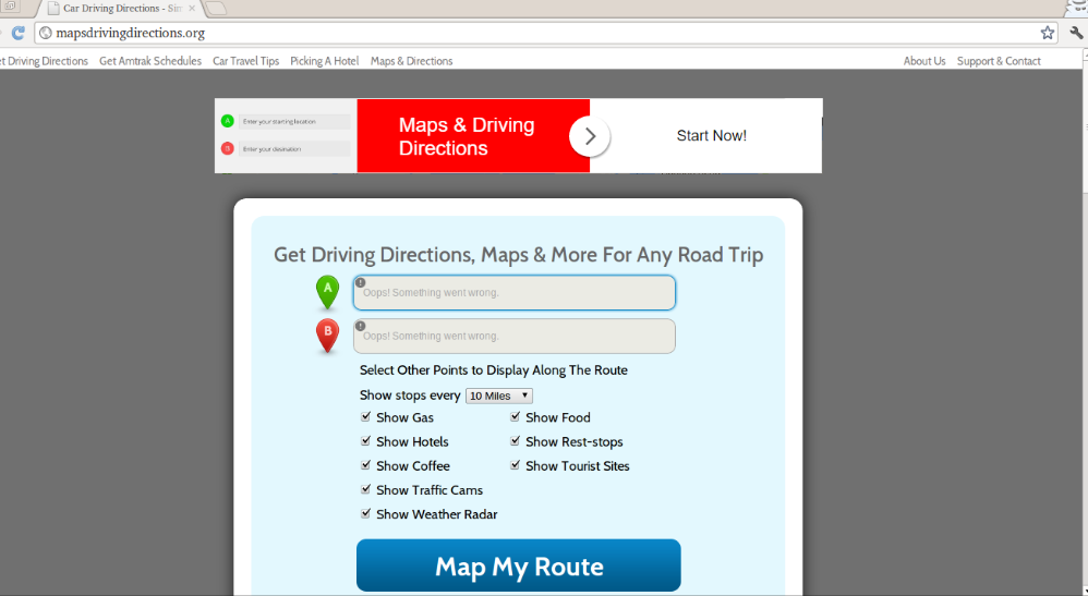 Maps Driving Directions