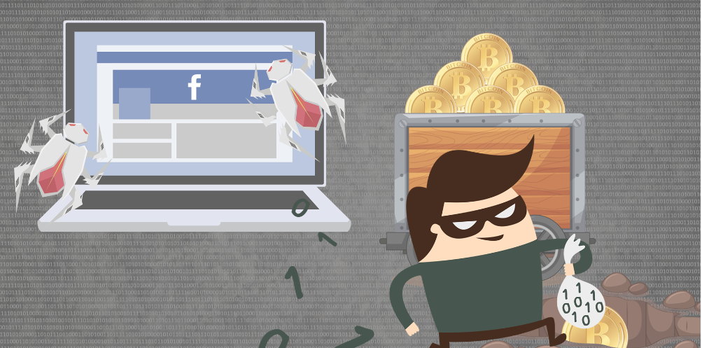 Nigel thorn malware can steal Facebook credentials and mine for cryptocurrency