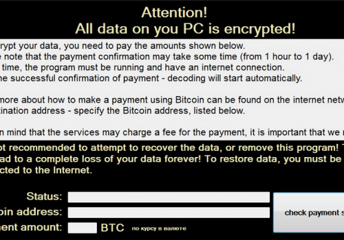 Remove Crypton ransomware virus