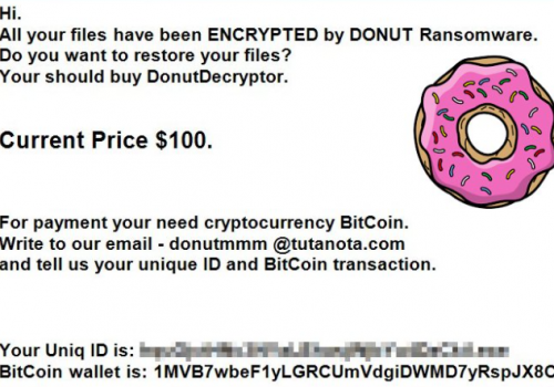 Donut Ransomware Removal