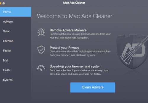 Odstrániť Mac Ads Cleaner