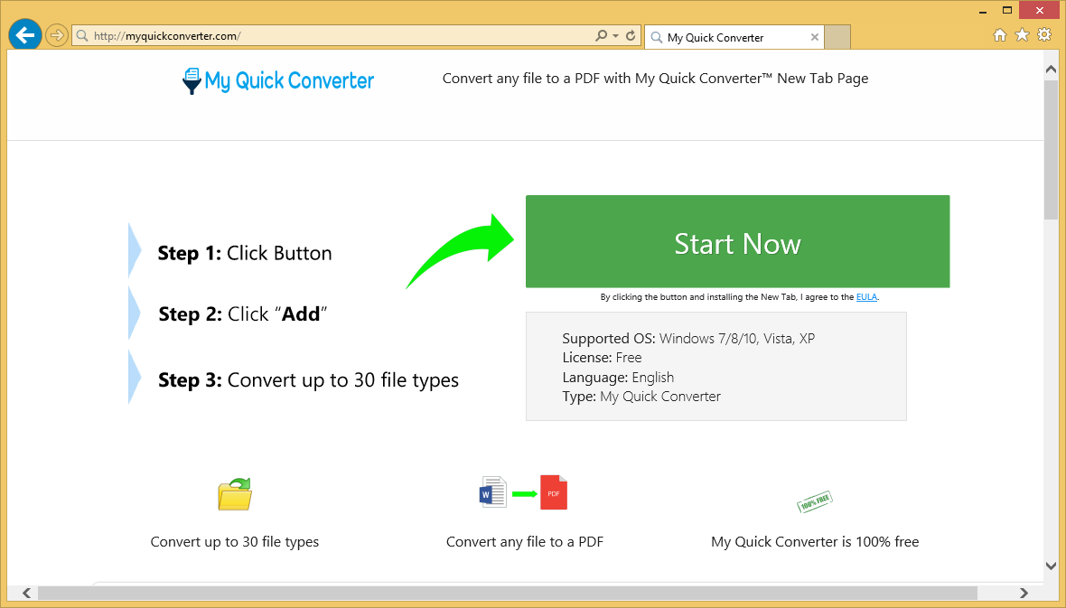 How to remove Myquickconverter.com
