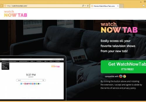 Bagaimana menghapus WatchNowTab