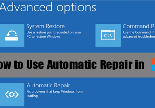 Windows 8 reparera verktyg