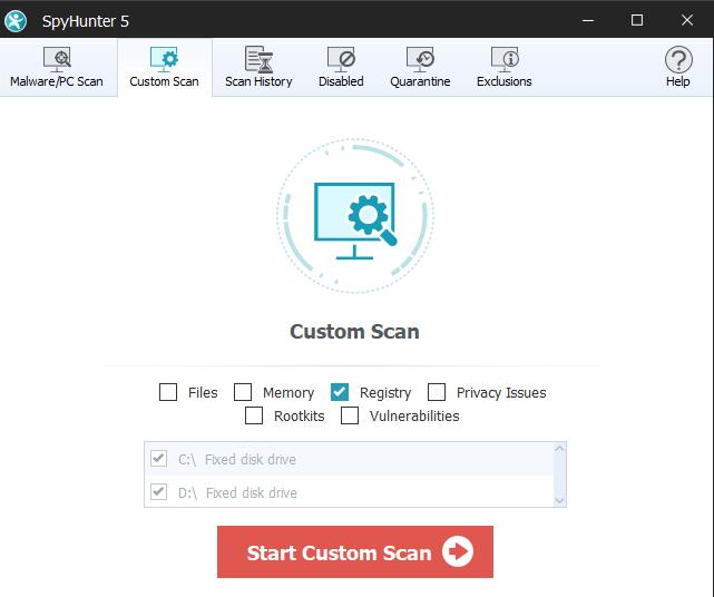 free spyhunter malware removal tool
