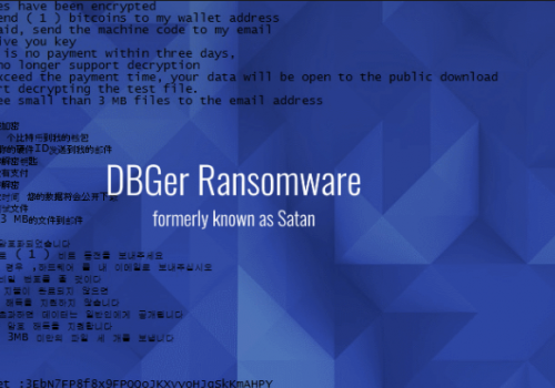 Jak tu odemknout DBGer ransomware