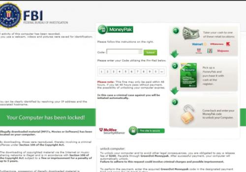 Remover FBI Green Dot Moneypak Virus