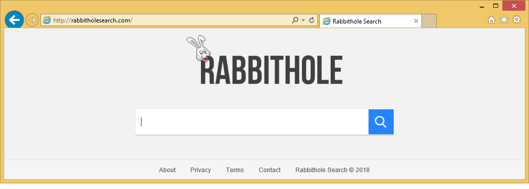 Come rimuovere Rabbitholesearch.com