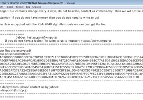 Como remover Scarab-Danger Ransomware