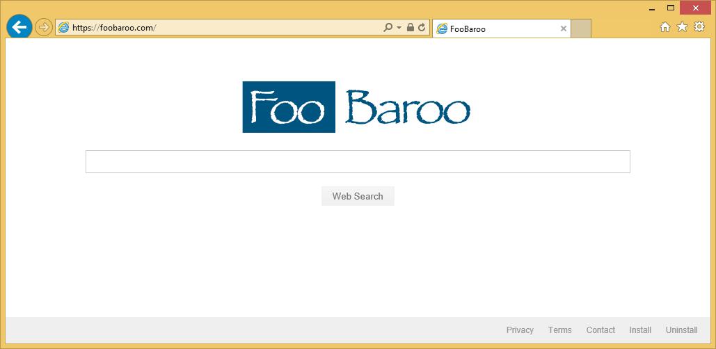 Poista FooBaroo.com