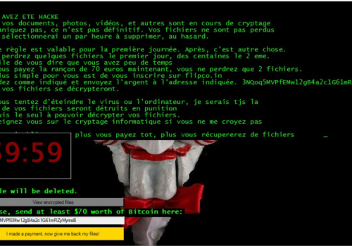 วิธีการลบ Cryptes Virus