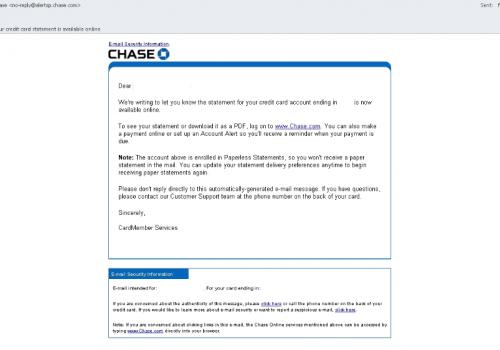 Virus de correo electrónico JPMorgan Chase