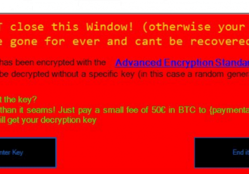 Ta bort Whoopsie Ransomware
