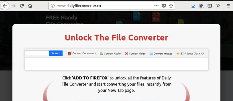 Dailyfileconverter Redirect Virus