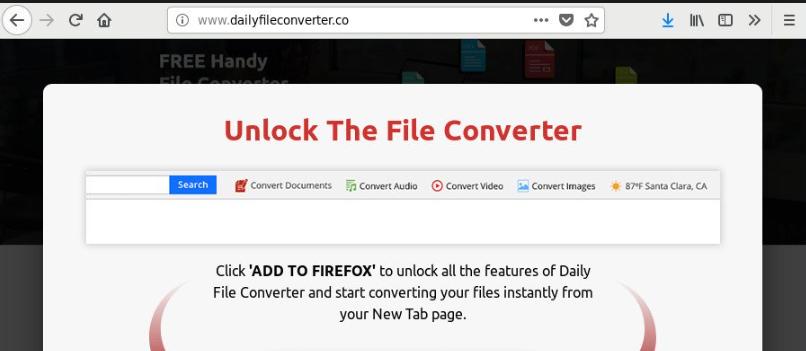 Dailyfileconverter Redirect Virus