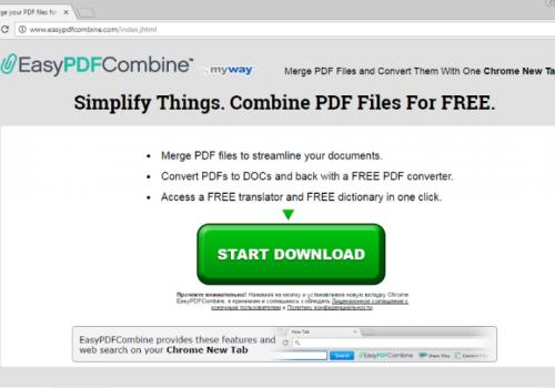 Rimuovere Easy PDF Virus