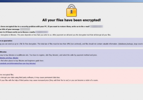 Fjerne BGTX Ransomware