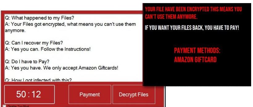 Κατάργηση EbolaRnsmwr ransomware